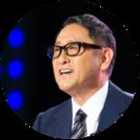 Image of the President of Toyota Motor Corporation, Akio Toyoda.